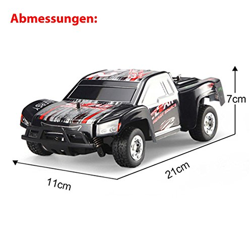 RC Auto kaufen Short Course Truck Bild 4: HSP Himoto 1 24 Off Road 2WD Mini RC ferngesteuertes High Speed Short Course Monstertruck Buggy, 2 4GHz Digital vollproportionale Steuerung Top Speed bis zu 25 km h, Komplett Set RTR*