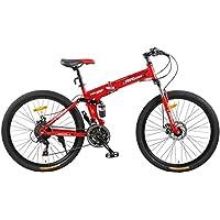 Fitness Minutes Folding Bike, Red, FM-F26-01S-RD