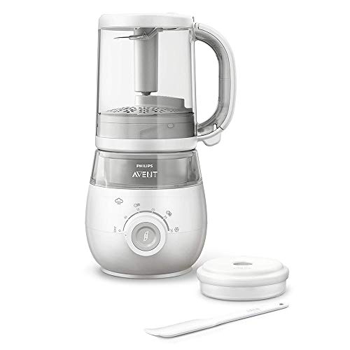 Philips Avent 4-in-1 Healthy Steam Baby Meal Maker, White