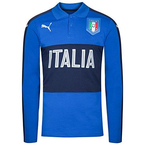 Puma Italien Herren Casual Performance Langarm Polo-Shirt 750531-08