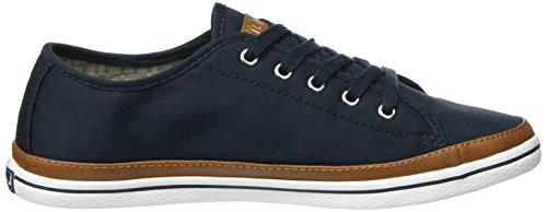 Tommy Hilfiger K1285esha 6d, Sneakers Basses Femme Bleu (Midnight 403)