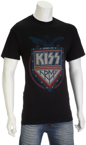 KISS - PATRIOT T-Shirt Schwarz