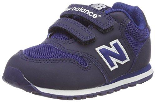 New Balance Unisex-Kinder 500 Sneaker, Blau (Navy/Blue Bb), 25 EU (Baby Schuhe Balance Junge New)
