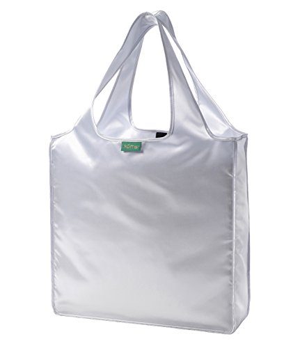 rume-silver-folding-tote-bag-green-label