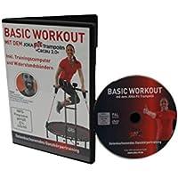 Preisvergleich für JOKA FIT Trainings-DVD, deutsch für Fitnesstrampoline Cacau, Basic Workout, 16765
