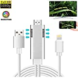 Tiancai Phone zu HDMI-adapterkabel 1080p HD 8pin mirroring to HDMI Digital AV naar HDMI adapterkabel Compatibele apparaten System 8.0 and above