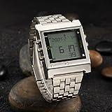Schöne Uhren, Herrenuhr Kleid Fernsehen Fernsteuerungsfunktion ( Farbe : Silber , Großauswahl : Einheitsgröße )