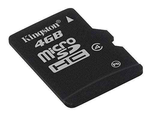 Kingston 4GB MicroSDHC Memory Card