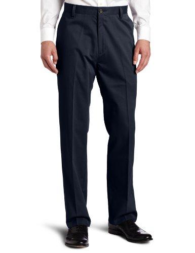 Dockers Men's Easy Khaki D3 Classic-Fit Flat-Front Pant, Dockers Navy, 38W x 30L