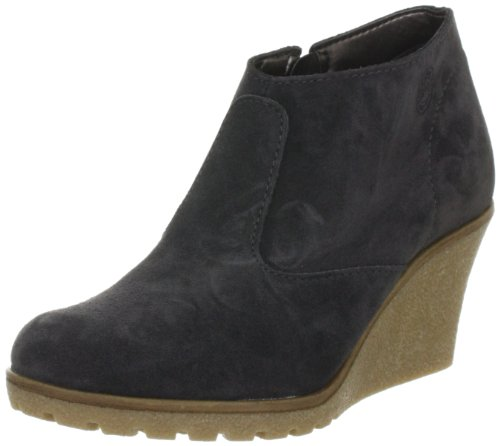 ESPRIT Kiwi Ankle Wedge G10366 Damen Fashion Halbstiefel & Stiefeletten Grau (dark grey 064)