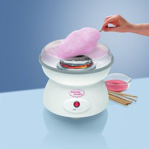 Zuckerwattemaschine Große Schale Spritzschutz Zuckerwatte Zuckerwatte-Schale (Sparsame 500 Watt + Schale, Spritzschutz Spülmaschinengeeignet)