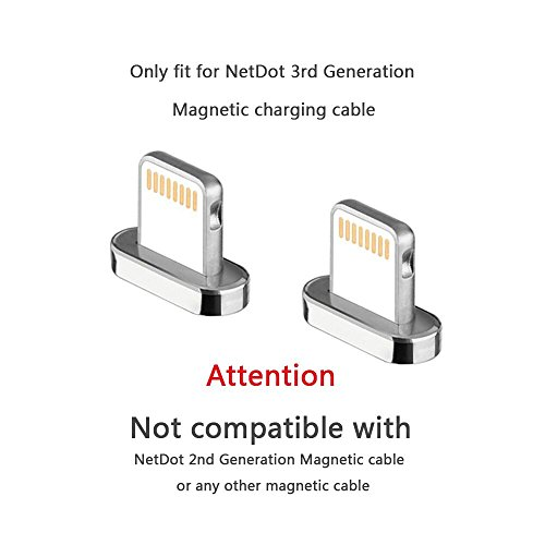 NetDot Add on Lightning Connector 3rd Generation Magnetkabel (Lightning Stecker/Kein Kabel)