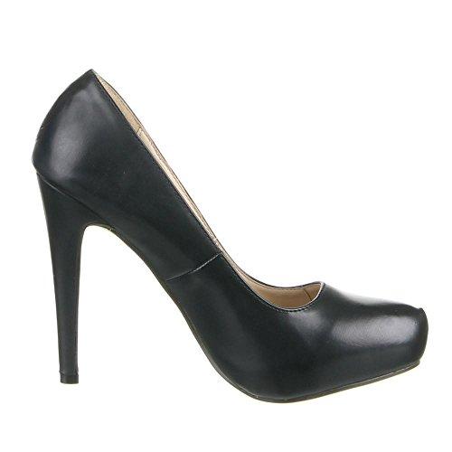 Damen Schuhe PUMPS MODERNE HIGH HEELS Beige Schwarz Camel Rot 36 37 38 39 40 41 Schwarz