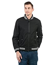 U.S. Polo Assn. Men Casual Jacket(_8907538673916_Black_S _)