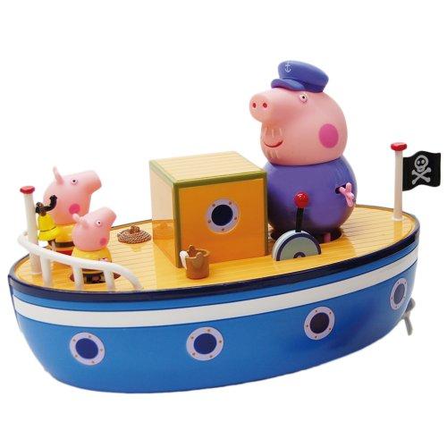 Peppa Pig - Barco del Abuelo Pig (Bandai 84258)