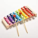 WP Child Kid Baby 8-Note Wooden Xylophone Musical Toys Xylophone Wisdom Juguetes Music Instrument
