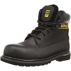 CAT Footwear Holton St SB HRO SRC/Mens, Bottes de sécurité Homme, Noir (Black), 43 EU