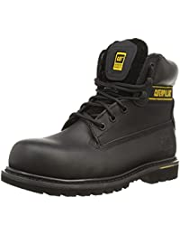 Caterpillar Holton Industrial Safety Boots Black