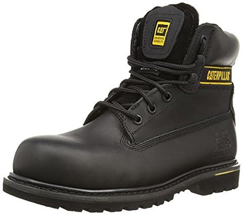 CAT Footwear Men's Holton SB P708026 Safety Shoes, Black, 9 UK
