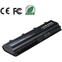 Topnma® Batería de repuesto para portátil HP DM4 G32 G42 G62 G72 CQ32 CQ42 CQ56 CQ62 CQ72 Compaq Presario Cq32 Cq42 Cq43 Cq430 Cq56 Cq62 Cq72 ; Hp Pavilion Dm4 ; Fits Mu06 593553-001 593554-001 Mu09 Hstnn-lb0w 636631-001 593550-001(6 Celdas 4400mAh 10.8V Negro) Notebook Computer Battery (6cell)