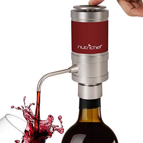 Dispensador de vino eléctrico, Portátil y automático,