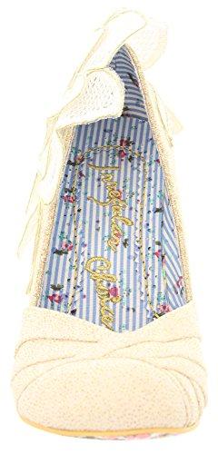 Irregular choice lOVE 3614-51 bébé, escarpins femme Beige - Cream