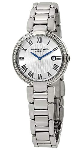 Raymond Weil Shine Etoile Stainless Steel & Diamond Quartz Silver Dial Bracelet Womens Watch 1600-STS-RE659