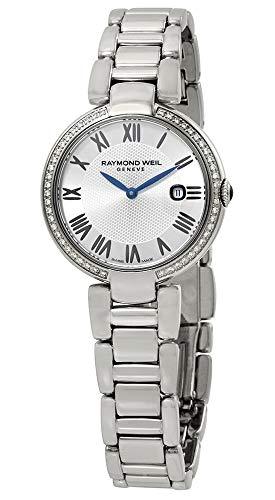 Raymond Weil Shine Etoile Stainless Steel & Diamond Quartz Silver Dial Bracelet Womens Watch 1600-STS-RE659