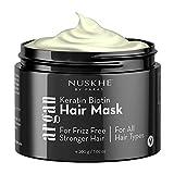 Nuskhe By Paras Hair Mask With Keratin, Biotin & Argan Spa Cream Home
