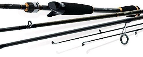 Daiwa AIRX601MFS AIRD-X 1/8-1/4oz Med Fast Taper Spin Rod (1 Piece), 4-10 lb/6' by Daiwa