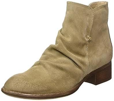 Manas Carol, Chelsea Boots Femme, Beige (Corda 001), 37 EU