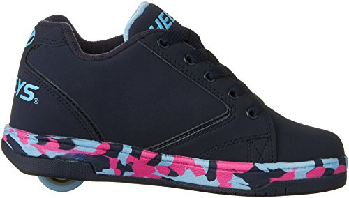 Heelys Propel, Sneakers Basses Mixte Enfant Multicolore (Navy / Pink Light Blue Confetti)
