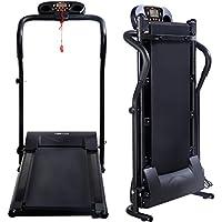COSTWAY Profi Elektrisches Laufband Heimtrainer Runner Fitnessgerät Hometrainer Lauftraining mit LCD-Display