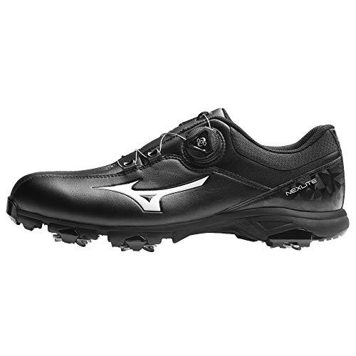 Mizuno , Chaussures de Golf pour Homme - Noir - Noir, 46 EU