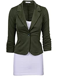 Amazon.co.uk: Green - Suits & Blazers / Women: Clothing