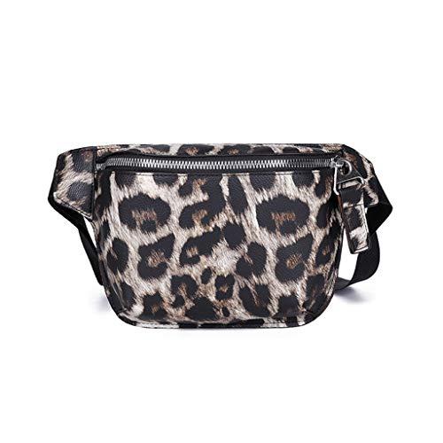 Yuan_dress Yuan  Damen-Umhängetasche aus Leopard Narbenleder mit hochwertiger Mode Damen Lederimitat Umhängetasche Designer Taschen Taschen groß Mit Quasten Kleine Größe