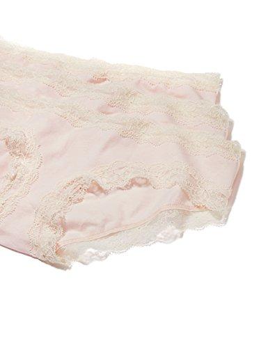 Iris & Lilly BELK014, Mutandine Donna, Pacco da 3 Rosa (Soft Pink)