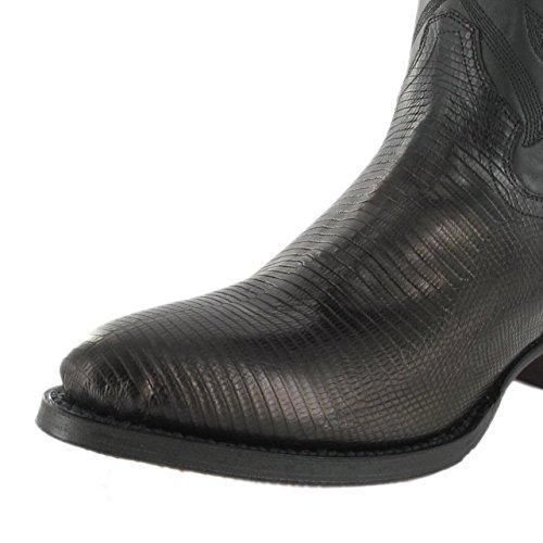 Tony Mora  1983, Bottes et bottines cowboy homme Noir - Iguana Negro