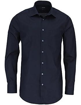 SEIDENSTICKER Herren Hemd Modern 1/1-Arm Bügelleicht Uni / Uniähnlich City-Hemd