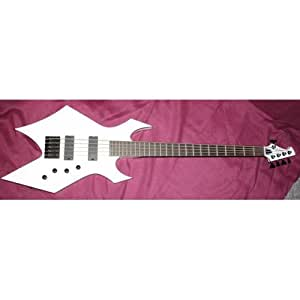 BC Rich Warlock 5 signature Gregoletto - Guitare basse 5 cordes occasion (+ étui)