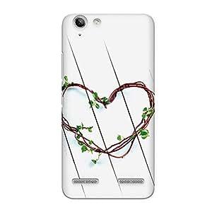 CrazyInk Premium 3D Back Cover for Lenovo Vibe K5 - Branch Heart