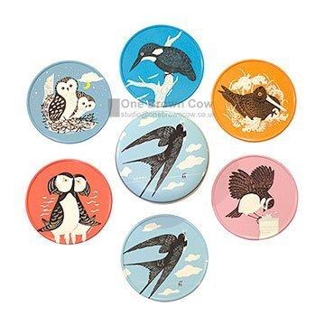 john-hanna-country-fair-british-birds-coasters