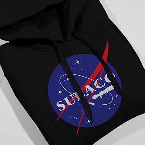Sulaco NASA Logo Aliens Women's Hooded Sweatshirt Black
