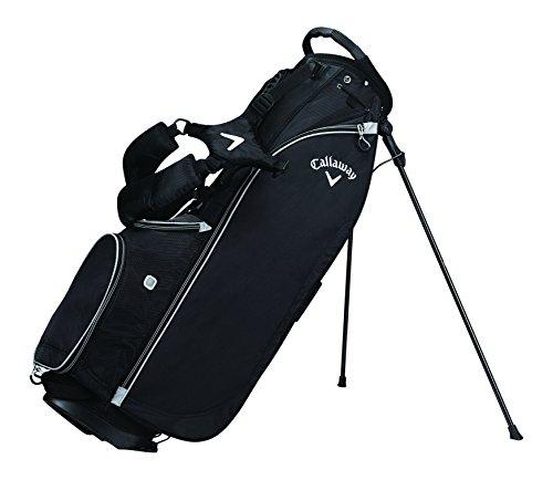 Callaway 2017 Hyper-Lite 2 Stand Bag Mens Golf Carry Bag-3 Way Top Black -