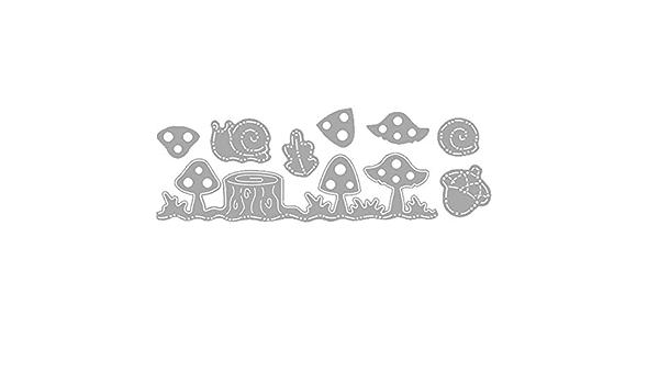 BYFRI Metall-Ausschnitt sterben Rechteck-Stanzen Schablone f/ür die Karte Scrapbooking Album Papier DIY Crafts