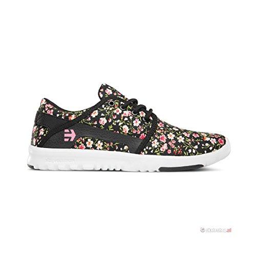 Etnies Scout W's Damen Sneaker BLACK WHITE PINK