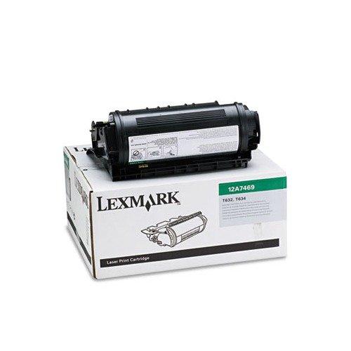 12A7469 Lexmark Extra Yield Cartridge - 12A7469 Lexmark T632/T634 Extra High Yield Toner Cartridge