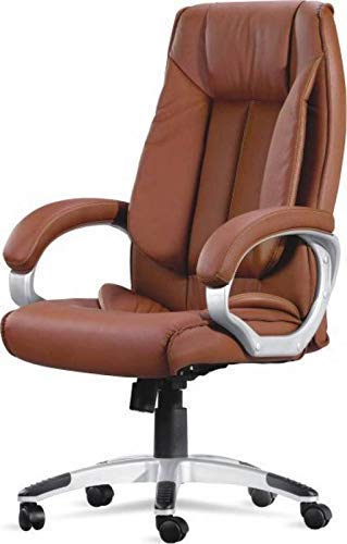 Mezonite High Back Brown Leatherette Office Executive Chair