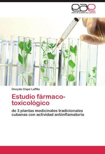 Estudio fármaco-toxicológico por Clapé Laffita Oneyda