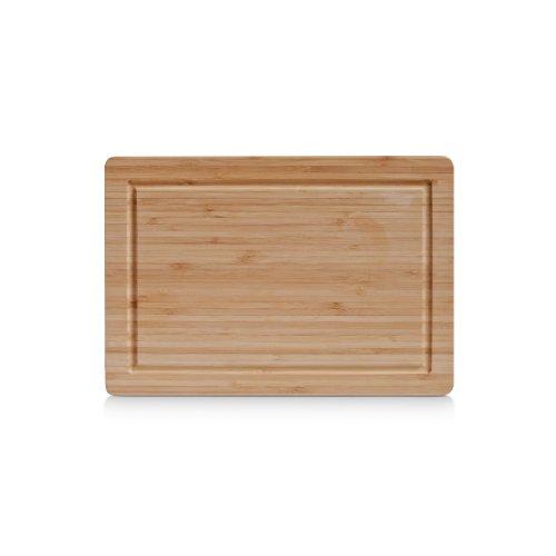 Zeller 25219 tagliere, bambú, beige, 32x22x1.6 cm